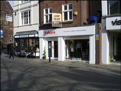 864 SF High Street Shop for Rent  |  50 Northgate Street, Chester, CH1 2HA