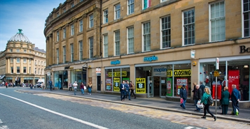 3,048 SF High Street Shop for Rent  |  100 - 104 Grainger Street, Newcastle upon Tyne, NE1 5JQ