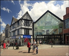 639 SF Shopping Centre Unit for Rent  |  The Grand Arcade, Wigan, WN1 1BH