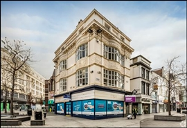684 SF High Street Shop for Rent  |  2 Parker Street, Liverpool, L1 1DN