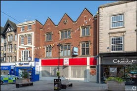 1,717 SF High Street Shop for Rent  |  17 - 18 Pride Hill, Shrewsbury, SY1 1DQ