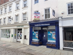 594 SF High Street Shop for Rent  |  29 Stodman Street, Newark On Trent, NG24 1AW