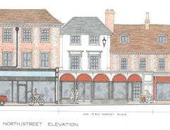 941 SF High Street Shop for Rent  |  19-21 Market Place, Henley-on-Thames, RG9 2AA