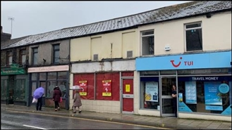 1,000 SF High Street Shop for Sale  |  216 High Street, Treorchy, CF42 6AS