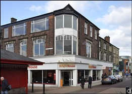 2,555 SF High Street Shop for Rent  |  5 - 7 New Market Street, Chorley, PR7 1BY