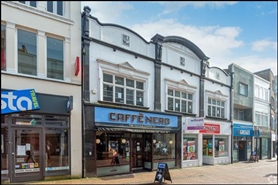 1,429 SF High Street Shop for Rent  |  62 Old Christchurch Road, Bournemouth, BH1 1LL