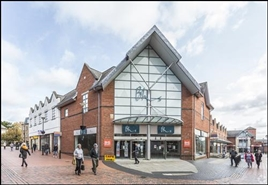 525 SF High Street Shop for Rent  |  Henblas Square Shopping Centre, Wrexham, LL13 8AE