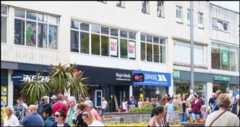 1,828 SF High Street Shop for Rent  |  36 New George Street, Plymouth, PL1 1RW