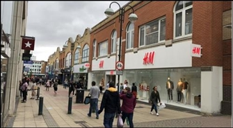 11,288 SF High Street Shop for Rent  |  21 The Martletts, Crawley, RH10 1ER