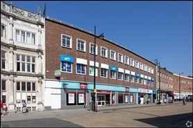 3,599 SF High Street Shop for Rent  |  173 - 178 High Street, Southampton, SO14 2BY