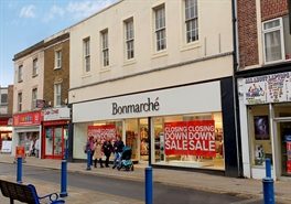 2,350 SF High Street Shop for Sale  |  41-43 High Street, Sheerness, ME12 1NX