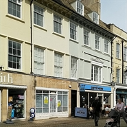 598 SF High Street Shop for Rent  |  16 High Street, Stamford, PE9 2AL