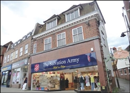 1,749 SF High Street Shop for Rent  |  26 High Street, Leatherhead, KT22 8AW