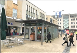 371 SF High Street Shop for Rent  |  Kiosk 1, Bristol, BS1 3EP