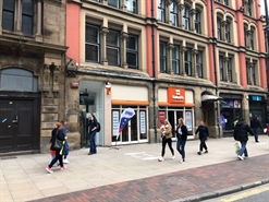 1,322 SF High Street Shop for Rent  |  77 Piccadilly, Manchester, M1 2BU
