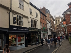 703 SF High Street Shop for Rent  |  71 Low Petergate, York, YO1 7HY