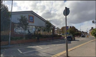 10,979 SF High Street Shop for Sale  |  Aldi, Ramsgate, CT11 7NA