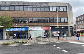 690 SF High Street Shop for Rent  |  55 The Kingsway, Swansea, SA1 5HQ