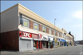 1,130 SF High Street Shop for Rent  |  Unit 12, Coronation Buildings, Wallasey, CH45 2NE