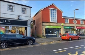 1,404 SF High Street Shop for Rent  |  Unit 1, 138 - 139 Commercial Street, Maesteg, CF34 9DW