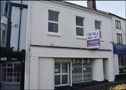 1,234 SF High Street Shop for Rent  |  136 High Street, Newcastle Under Lyme, ST5 1PT