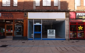 High Street Shop for Rent  |  194 Station Street, Burton Upon Trent, DE14 1BH