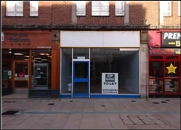 560 SF High Street Shop for Rent  |  194 Station, Burton Upon Trent, DE14 1BH