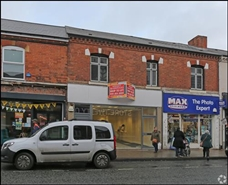 563 SF High Street Shop for Rent  |  107 High Street, Birmingham, B23 6SA