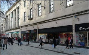 4,193 SF High Street Shop for Rent  |  Unit 10, Queens West Centre, Cardiff, CF10 2AQ